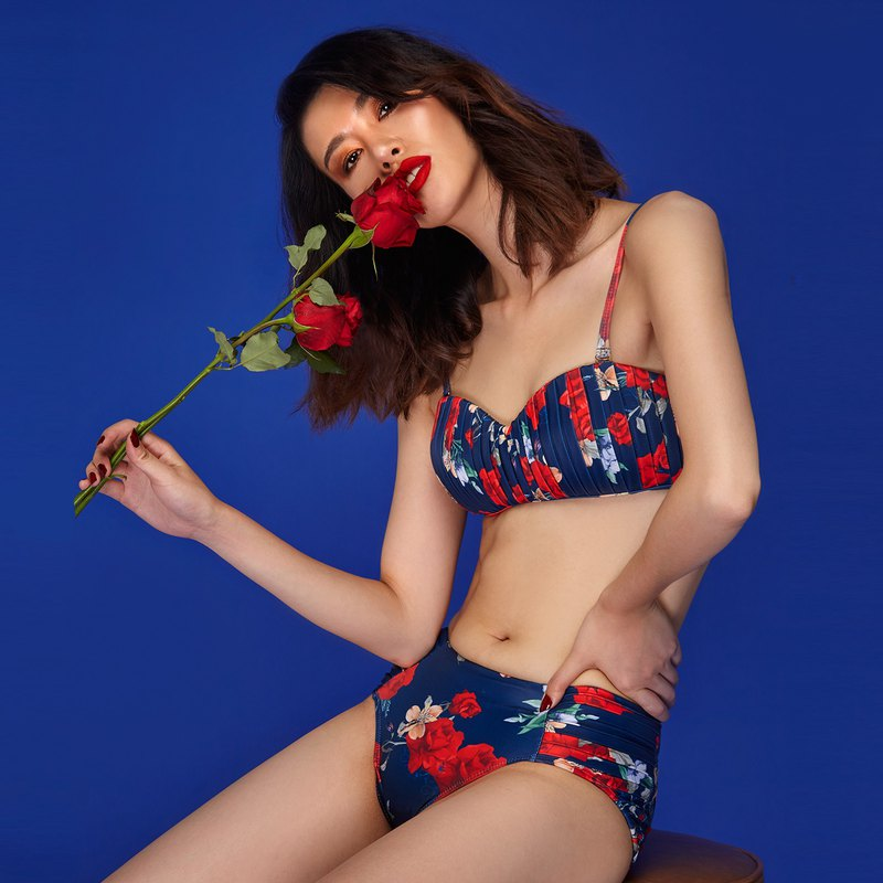 Grace - Two Piece Swimwear Color: Medi Bloom (CREX103)