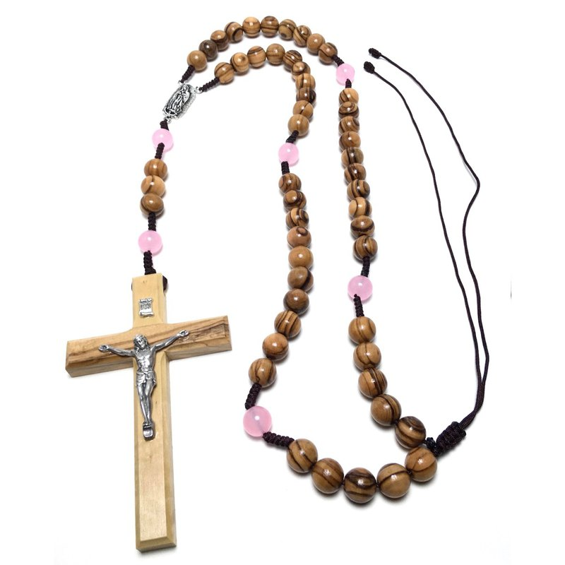 Israel imported olive wood rosary