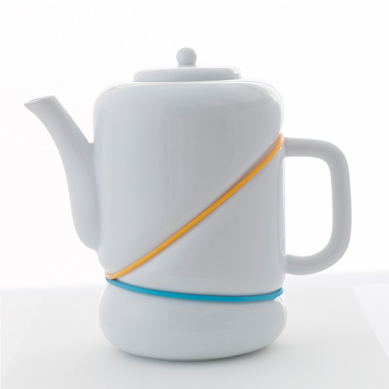 RUBBER BAND teapot