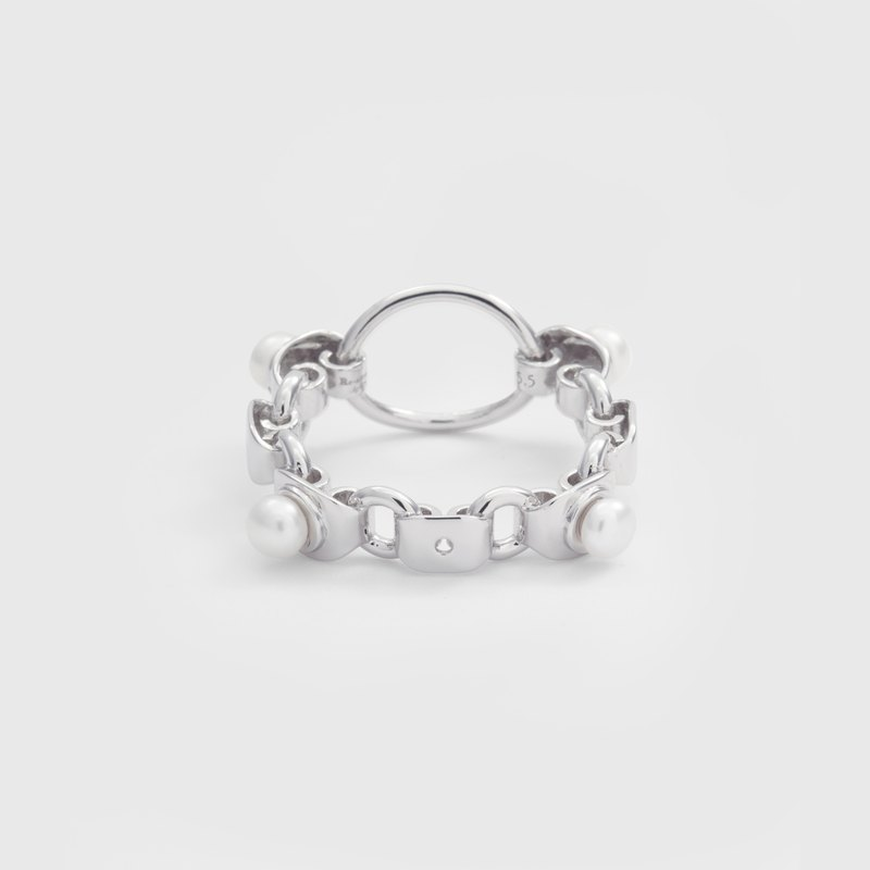 Mir Ring 925 Silver with Rhodium Plating