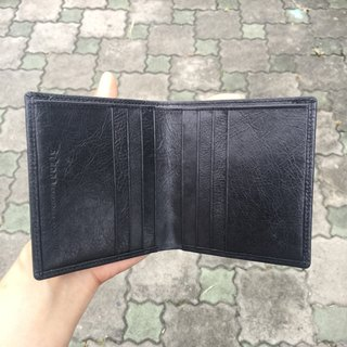 Sienna leather business minimalist light wallet