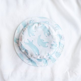 Summer Double Sided Fisherman Hat Series | Ice Polar Bear