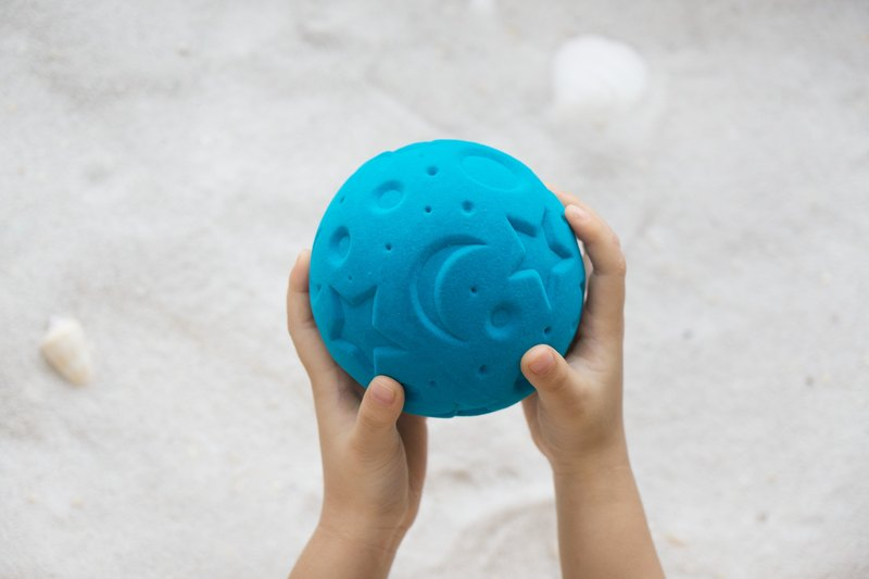 Rubbabu -Biodegradable Green Soft Safe Natural Rubber Toys-  - Starry Night -