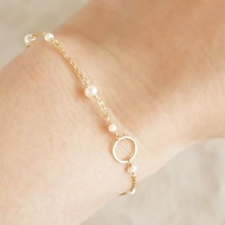 14KGF Moon Light Bracelet