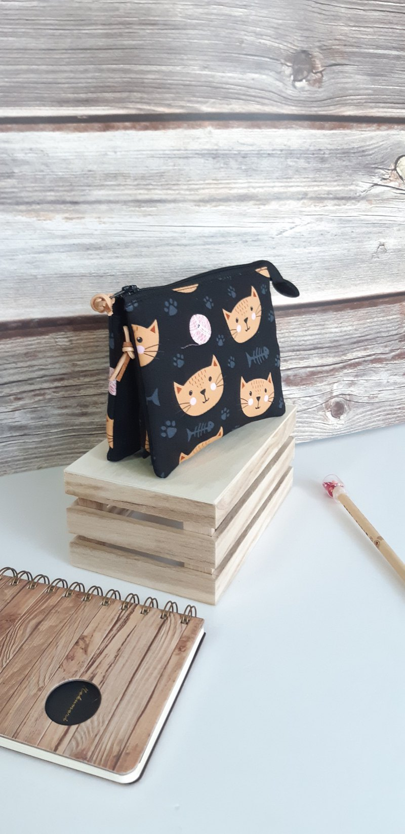 Smiling cat five-layer bag for yourself and mom's best mother's day gift