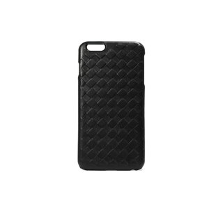 Mobile Shell - Black Sheepskin Woven iPhone 6s Plus
