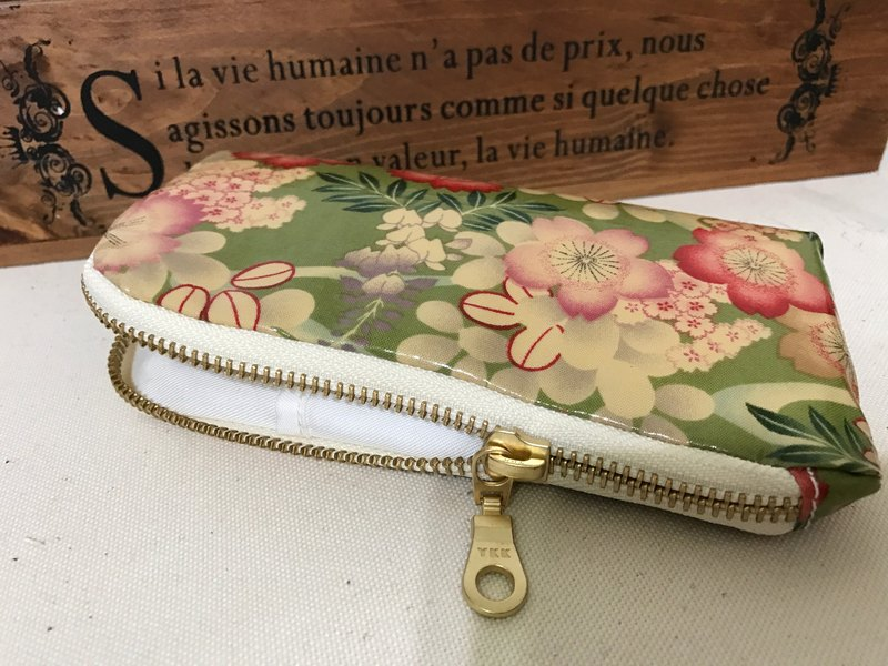 Hand made iPhone phone bag mobile phone storage bag zipper phone bag zipper bag carry bag