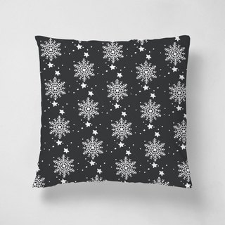 Snow gently floating | 40 * 40 plush pillow
