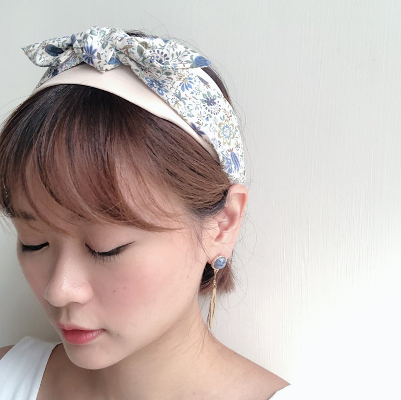 Memory is floral Elastic hair band