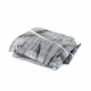 HARD RAYS GREY THROW BLANKET