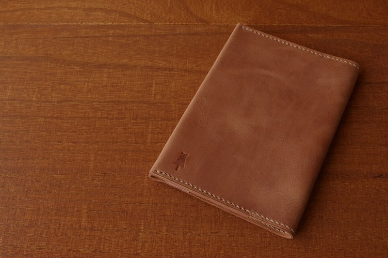 [Made to order] Book cover with matte texture Paperback size 105X148mm Brown