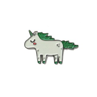 Unicorn Green Pin
