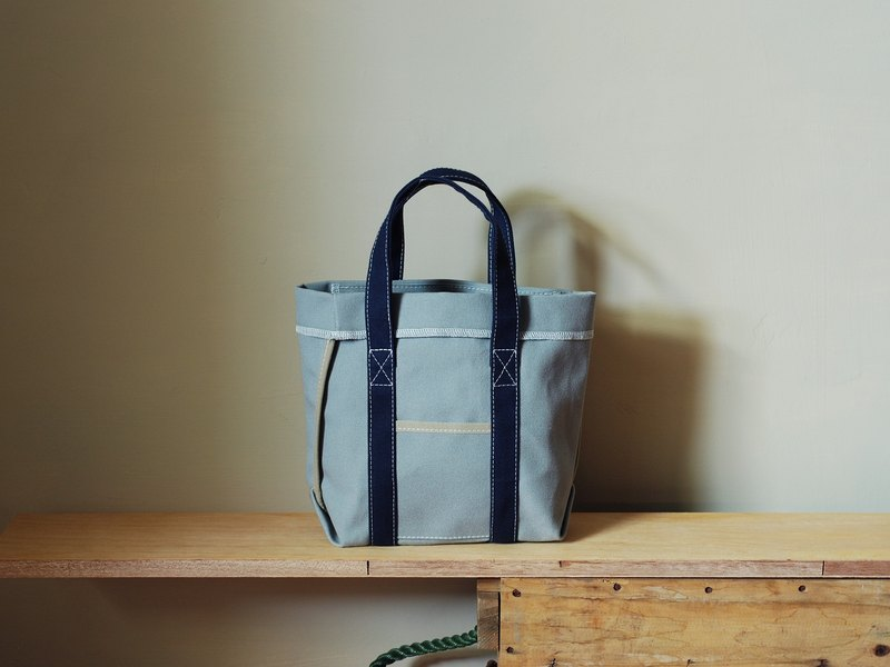 Unsymmetrical small Totes gray