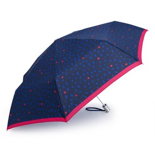 Ultra Lightweight Auto Open Close Umbrella - Flake Blue