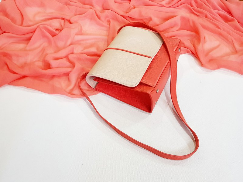 Bliss (Fruit Punch Color) Leather Bag