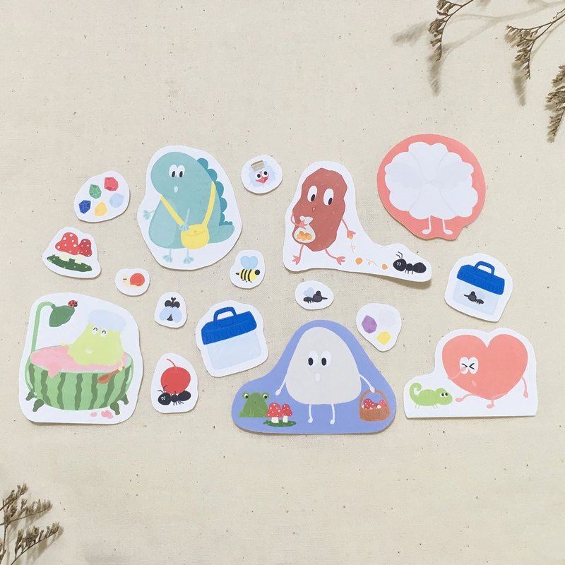 Waves Magic I move!! Waterproof stickers