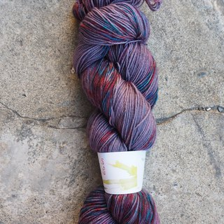 Hand dyed line. Winter Sock (Sock yarn)