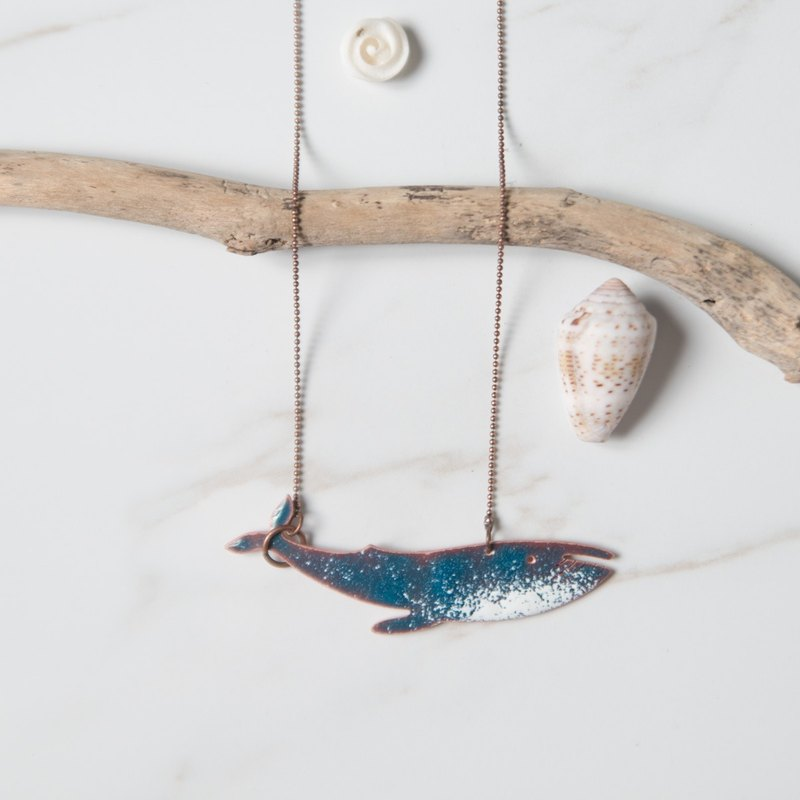 The Deep Blue Friends Collection 02: Torch fire enamel jewelry.