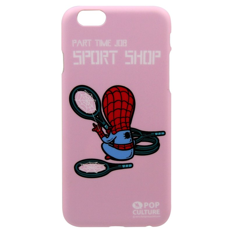 iPhone 6/6s Flying Mouse hard case /Part Time Job-Sport Shop