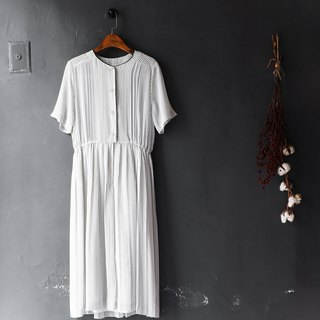 Heshui Mountain - Kagoshima Pure White Love Day Handmade Antique Silk Dresses dresses overalls oversize vintage dress