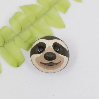 Lazy brooches (pins / magnets) | hand care | animals | accessories | jewelry |