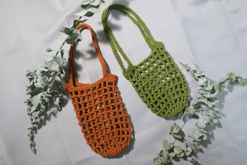 【เวิร์คช็อป】Minibobi mother-in-law hand-made class in March--water cup mesh bag