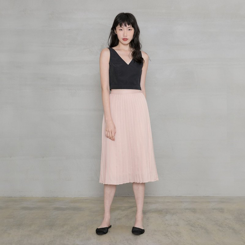 Good Time Fine Pleated Midi Skirt One Fine Day Knife Pleat Skirt