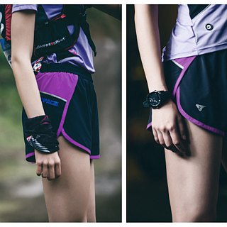 【SUPERACE】SR-PACE 2-in-1 WOMEN'S RUNNING SHORT / BLACK