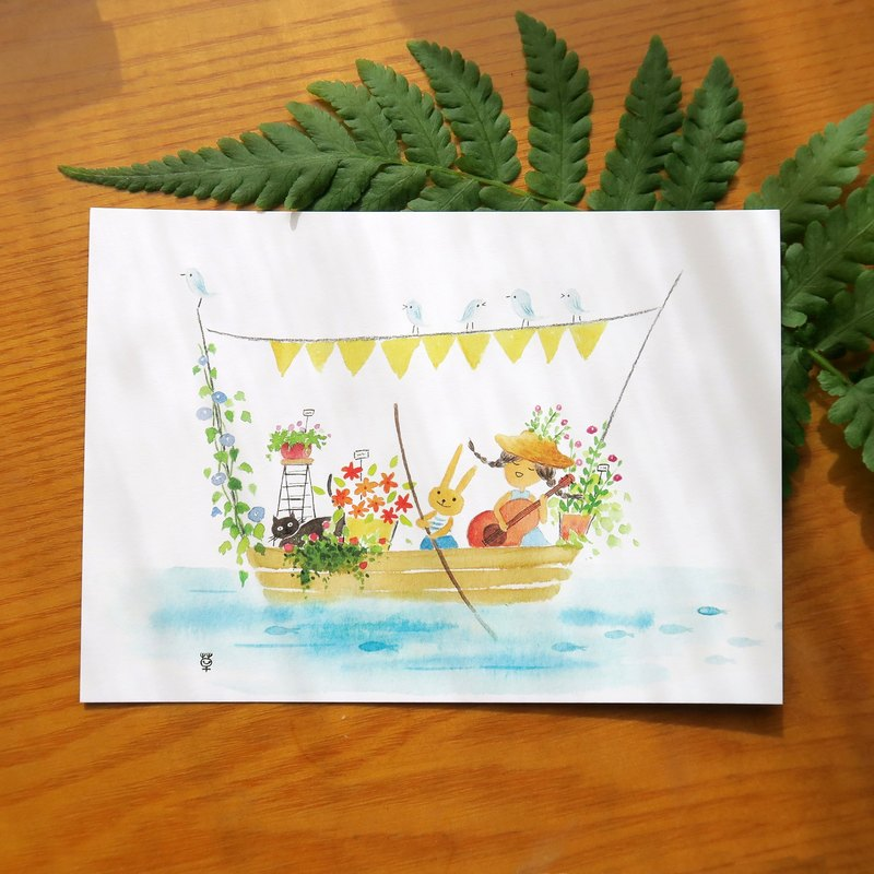 Summer Song Postcards