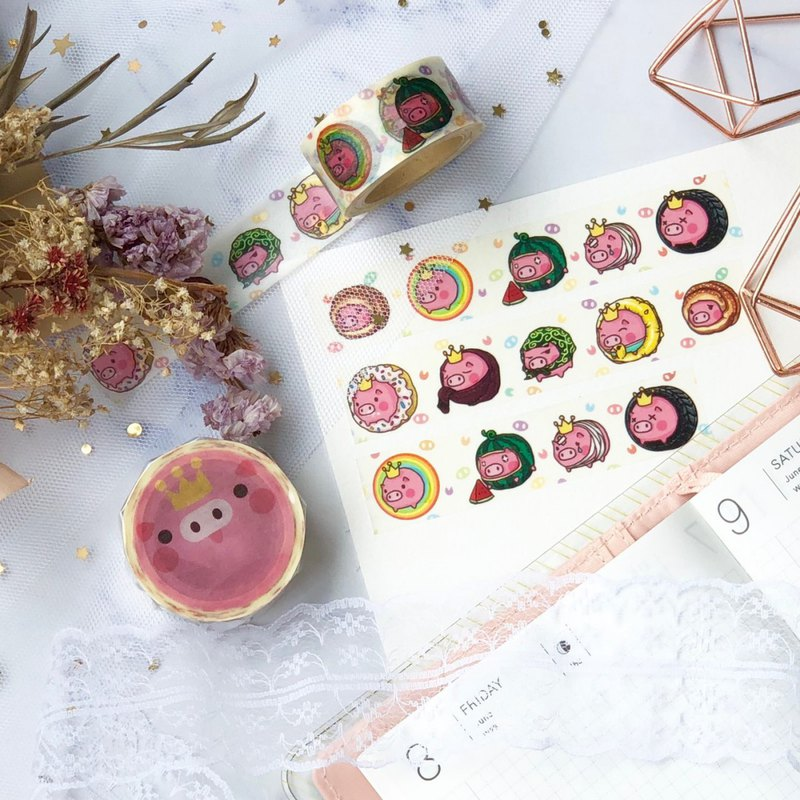 TOLO Pig Washi Tape