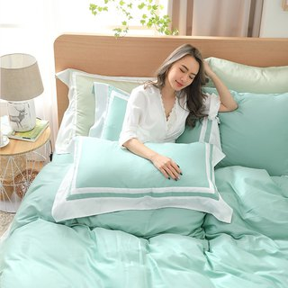 (Double size) Dream color original - Fruit green 60 cotton multi-layer design bed pack four sets