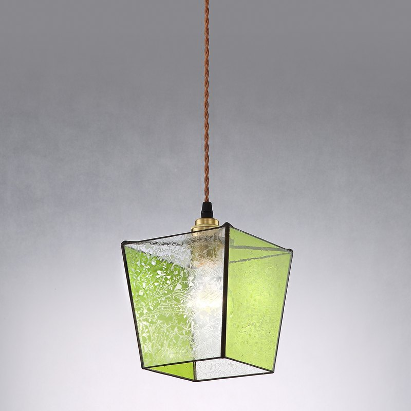 [Dust] years old ornaments vintage glass chandeliers PL-301