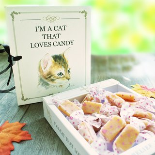 """Little Sugar Meow"" authentic milk candy gift box"