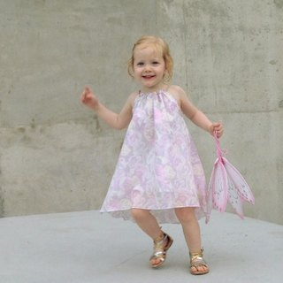 Girls Summer Dress: Odyssey Beach Dress in Pastel Sorbet