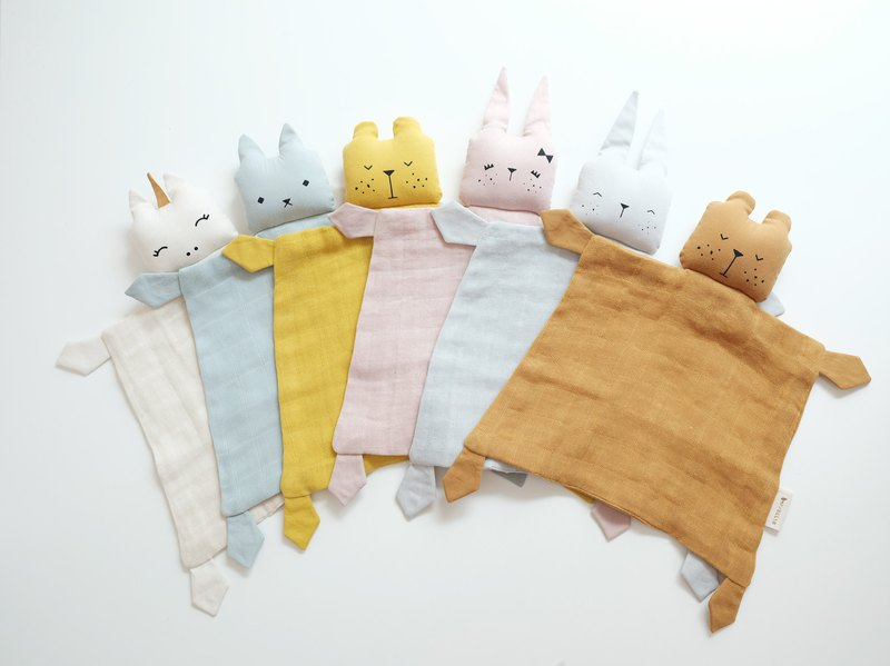 Animal baby comfort towel ANIMAL CUDDLE