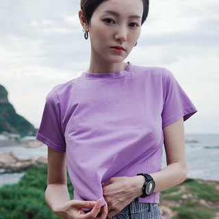 Violet soft blouse