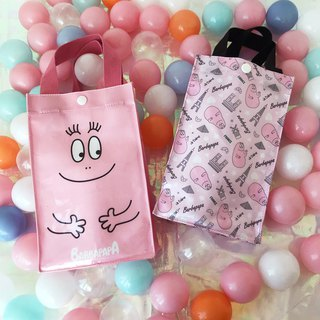 [BARBAPAPA bubble] waterproof storage bag beverage bag green bag · genuine authorization