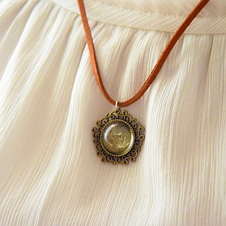 Flying Dandelion Handmade Necklace