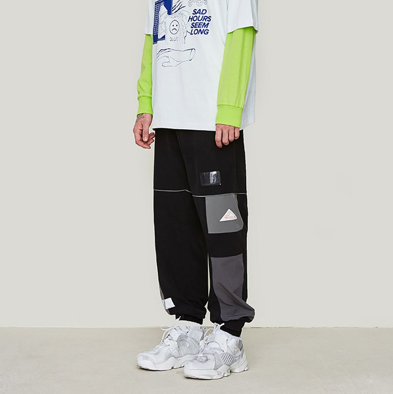Sweatpants with silkscreen
