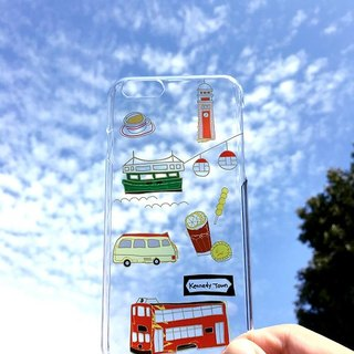 Travel in Hong Kong - Transparent Phone Cover