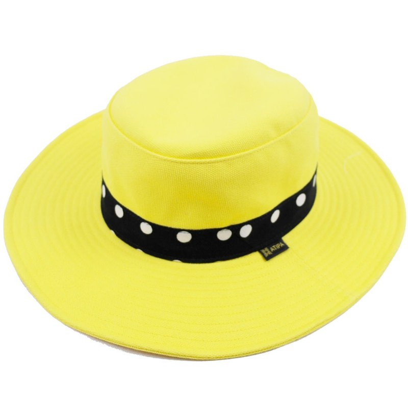 ATIPA Wide Brim Panama hat for World's fashion tours