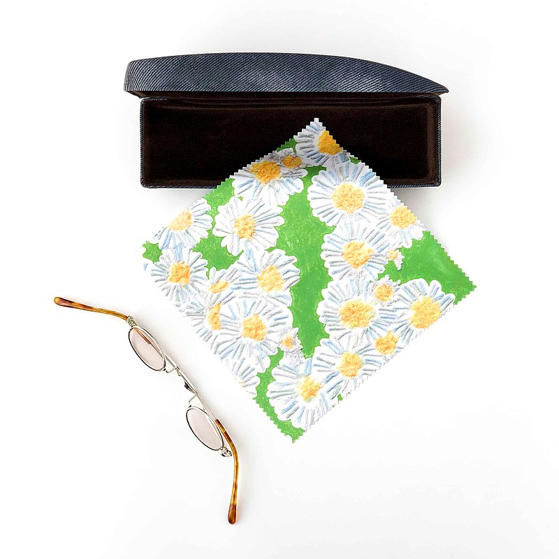 eyeglass cloth【spring_daisy】