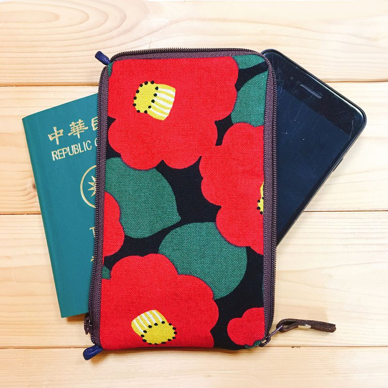 phone bag (Camellia) make to order*