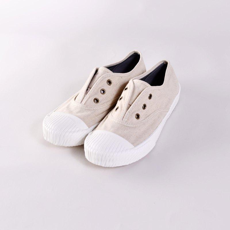 帆布鞋-FREE+ 素棉麻