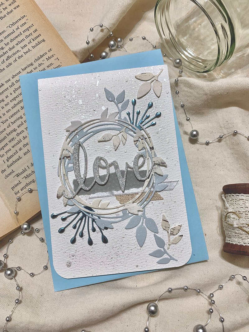 Handmade cards, blessing cards, heart cards, universal cards