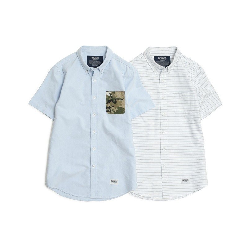 Filter017 Short-Sleeved Oxford Shirt  牛津短袖襯衫