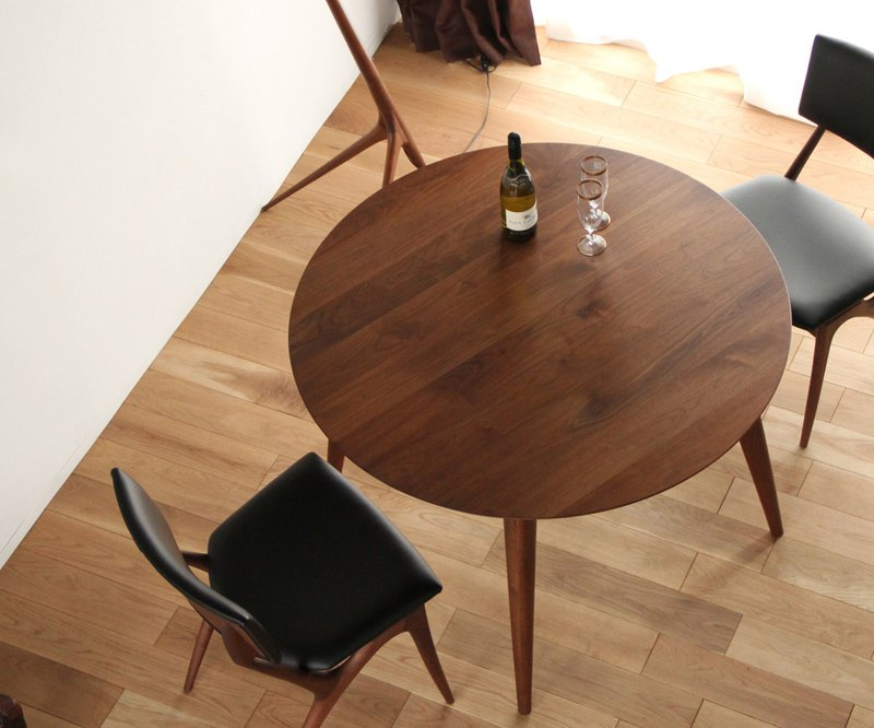Asahikawa Furniture Takumi Crafts CREER Dining Round Table