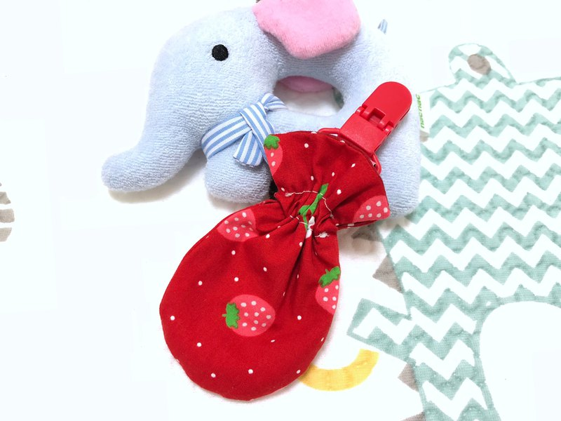Strawberry. Red / small kite peace bag. Pouch bag. Dragon Boat Festival sachet bag. Storage bag