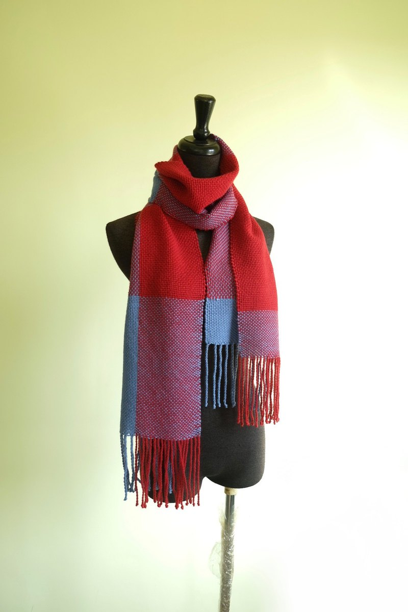 Handwoven by Carina | Angora blended natural fiber Scarf