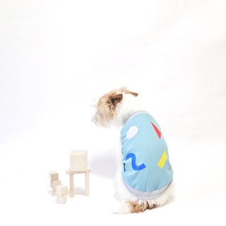 Cool-feel Materials Dog Shirt / Bricks
